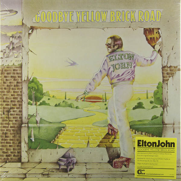 Elton John Elton John - Goodbye Yellow Brick Road (2 LP) элтон джон elton john goodbye yellow brick road 4 cd dvd