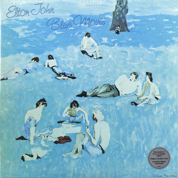 все цены на  Elton John Elton John - Blue Moves (2 LP)  в интернете