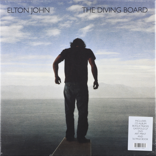 Elton John Elton John - Diving Board (2 Lp + Cd + Dvd) vildhjarta vildhjarta masstaden lp cd