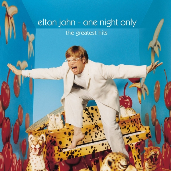Elton John Elton John - One Night Only - The Greatest Hits (2 LP) american loft style glass edison wall sconce industrial vintage wall light for bedside antique hemp rope lamp lampara pared
