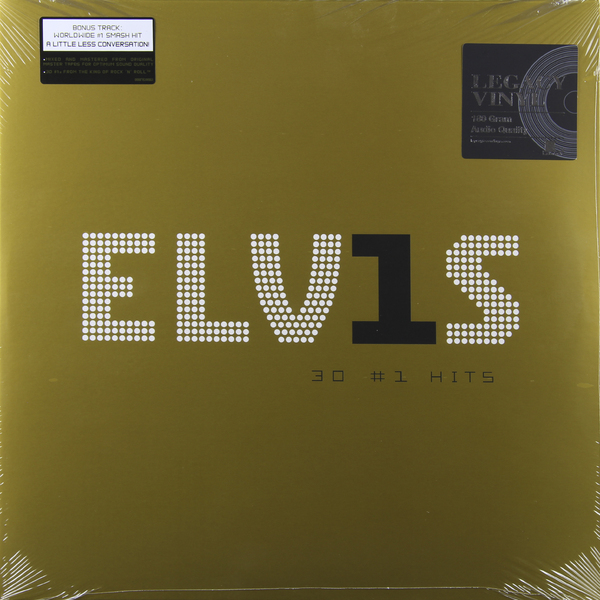ELVIS PRESLEY ELVIS PRESLEY - 30 #1 HITS (2 LP) elvis presley elvis gold 2 lp