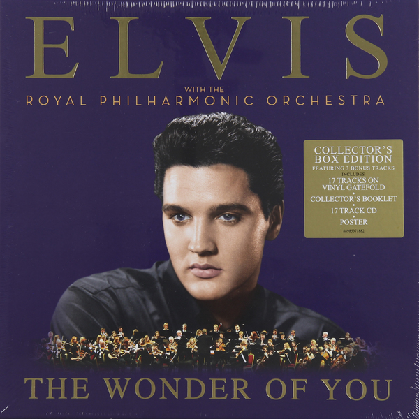 Elvis Presley Elvis Presley   Royal Philharmonic Orchestra - The Wonder Of You (2 Lp + Cd) elvis presley elvis cd