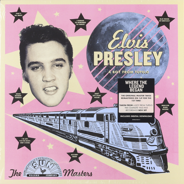 Elvis Presley Elvis Presley - The Sun Masters: A Boy From Tupelo cd elvis presley at the movies