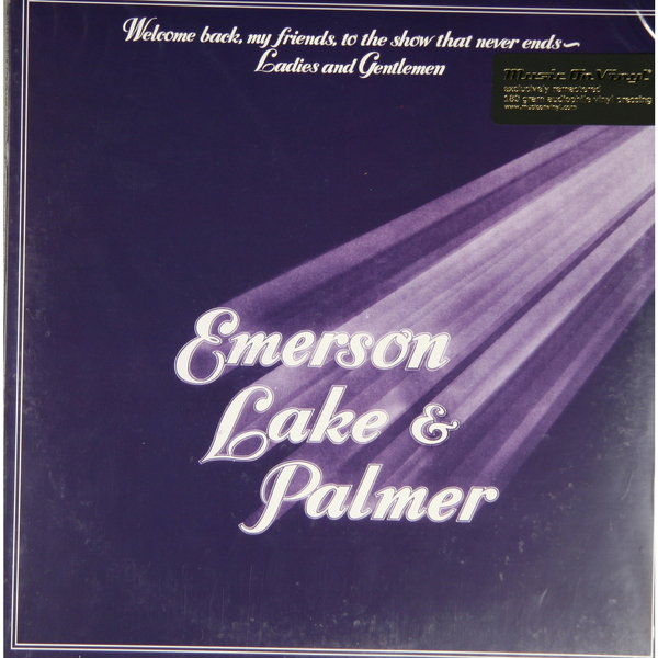 EMERSON, LAKE   PALMER-WELCOME BACK, MY FRIENDS... (3 LP, 180 GR) от Audiomania