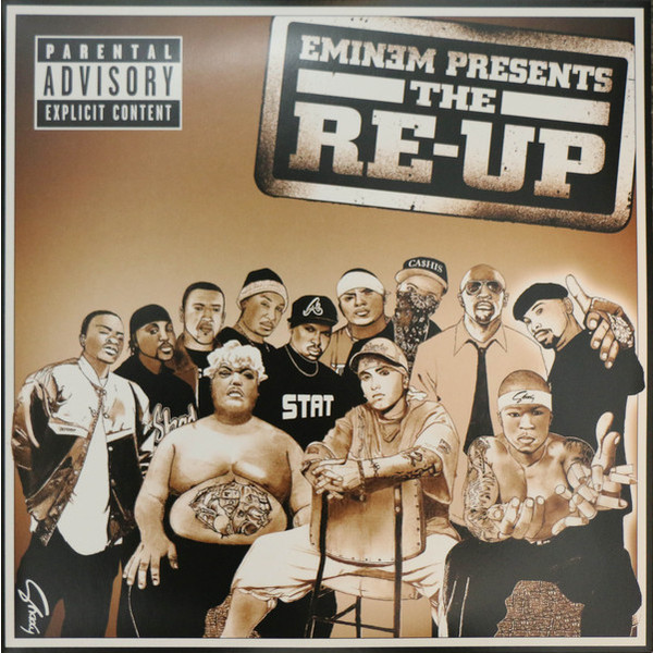 Eminem Eminem - Eminem Presents The Re-up (2 LP) showcase presents superman team ups volume 2