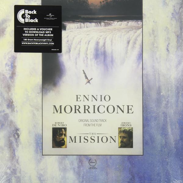 САУНДТРЕК ENNIO MORRICONE - THE MISSION (180 GR) саундтрек саундтрек jaws 180 gr