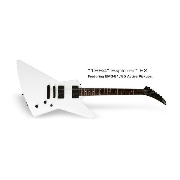 Электрогитара Epiphone 1984 EXPLORER EX ALPINE WHITE