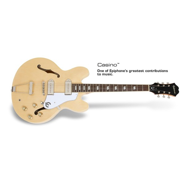 Гитара полуакустическая Epiphone CASINO NATURAL epiphone pro 1 plus acoustic natural