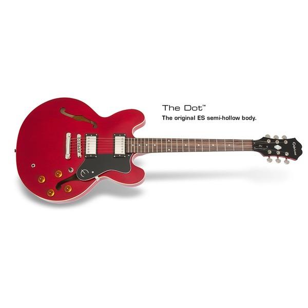 Гитара полуакустическая Epiphone DOT CHERRY