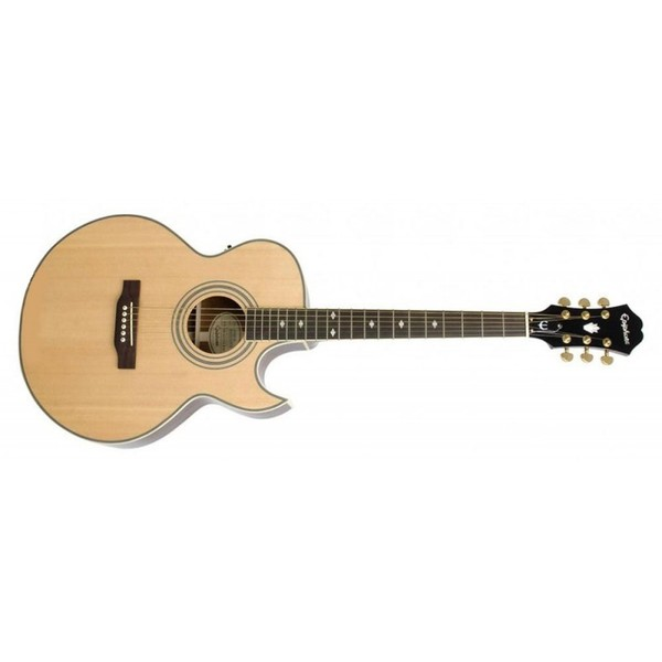 Гитара электроакустическая Epiphone PR-5E NATURAL GOLD HDWE epiphone pro 1 plus acoustic natural