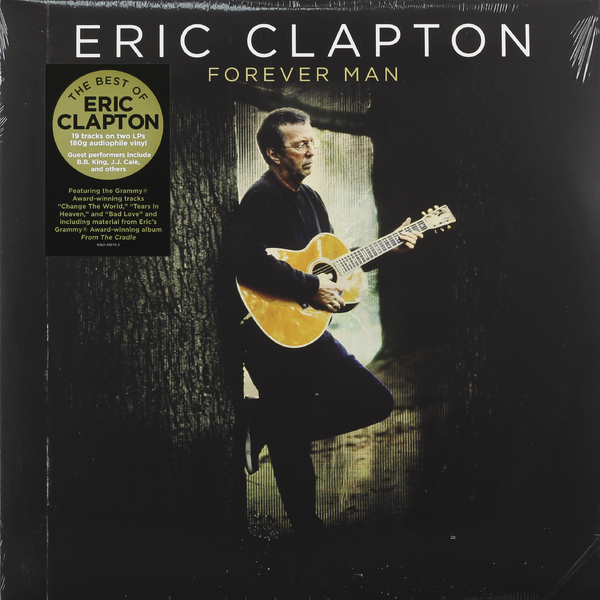Eric Clapton Eric Clapton - Forever Man: Best Of (2 Lp, 180 Gr) guano apes guano apes proud like a god 180 gr colour