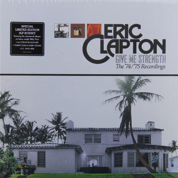 ERIC CLAPTON ERIC CLAPTON - GIVE ME STRENGTH (3 LP) eric clapton 24 nights