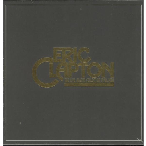 Eric Clapton Eric Clapton - The Live Album Collection (6 LP) eric clapton eric clapton the studio album collection box set