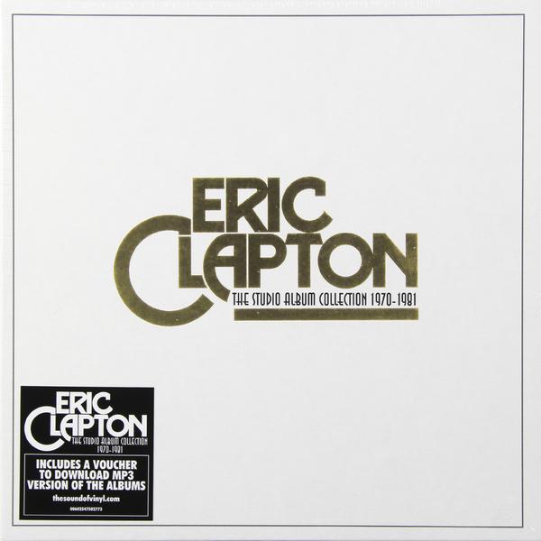 eric Eric Clapton Eric Clapton - The Studio Album Collection (box Set)
