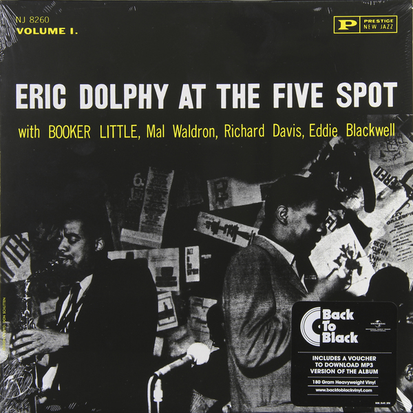 Eric Dolphy Eric Dolphy - At The Five Spot (180 Gr) at the gates at the gates at war with reality 180 gr