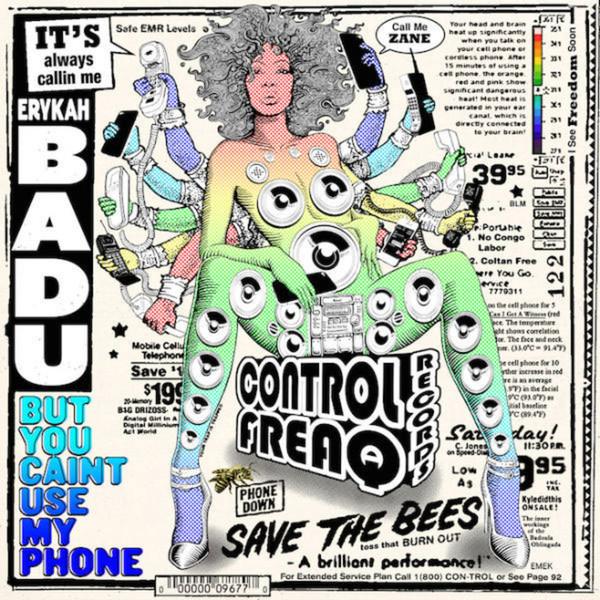 где купить  Erykah Badu Erykah Badu - But You Caint Use My Phone  по лучшей цене