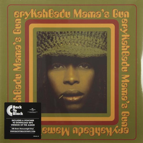 Erykah Badu Erykah Badu - Mama's Gun (2 Lp, 180 Gr) guano apes guano apes proud like a god 180 gr colour