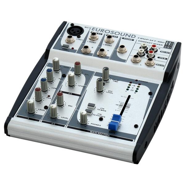 Аналоговый микшерный пульт Eurosound Микшерный пульт  Compact-502 изображение