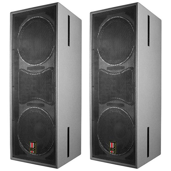 """Профессиональная пассивная акустика EurosoundПрофессиональная пассивная акустика<br>Акустическая система профессионального назначения, всепогодное исполнение, 2 полосы, 3 динамика: ВЧ 2"""", НЧ 2 х 12"""", закрытый корпус, чувствительность 101 дБ, импеданс 8/4 Ом, диапазон частот 50 Гц – 18 кГц, габариты 380 х 1000 х 400 мм, вес 42 кг.<br>"""