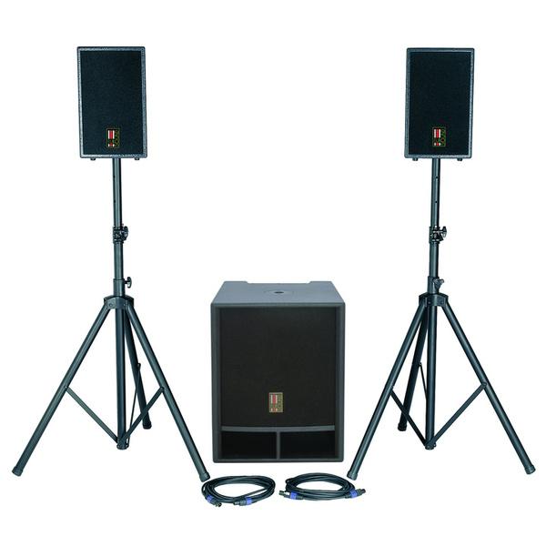 Комплект профессиональной акустики Eurosound FOCUS-1100A-v2