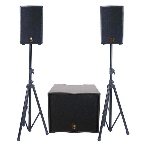 Комплект профессиональной акустики Eurosound FOCUS-1100A-USB