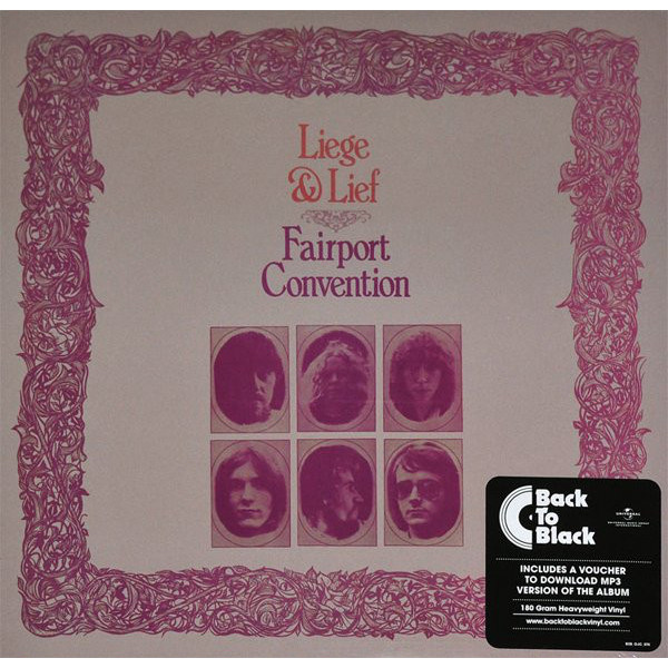 FAIRPORT CONVENTION FAIRPORT CONVENTION - LIEGE AND LIEFВиниловая пластинка<br><br>