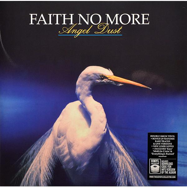 Faith No More Faith No More - Angel Dust (2 Lp, 180 Gr) виниловая пластинка faith no more angel dust