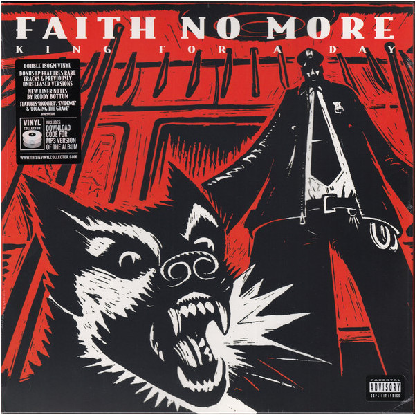 где купить  FAITH NO MORE FAITH NO MORE - KING FOR A DAY…FOOL FOR A LIFETIME (2 LP, 180 GR)  по лучшей цене