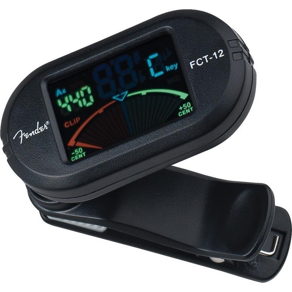 Гитарный тюнер Fender FCT-012 COLOUR CLIP-ON TUNER