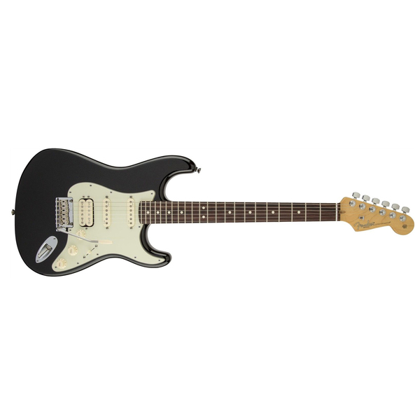 Электрогитара Fender American Deluxe Strat Plus HSS Maple Fingerboard Mystic Black