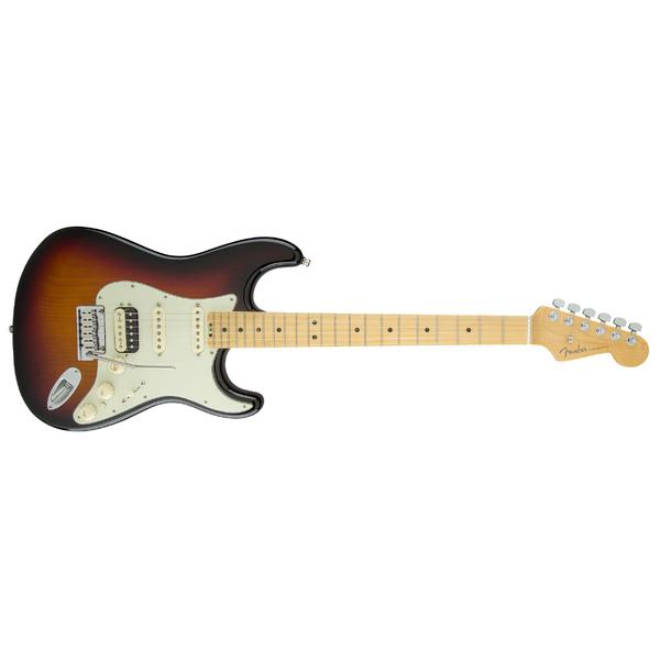 Электрогитара Fender American Elite Stratocaster HSS Shawbucker Maple Fingerboard 3-Color Sunburst
