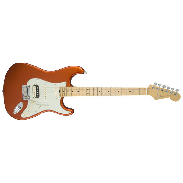 Электрогитара Fender American Elite Stratocaster HSS Shawbucker Maple Fingerboard Autumn Blaze Metallic