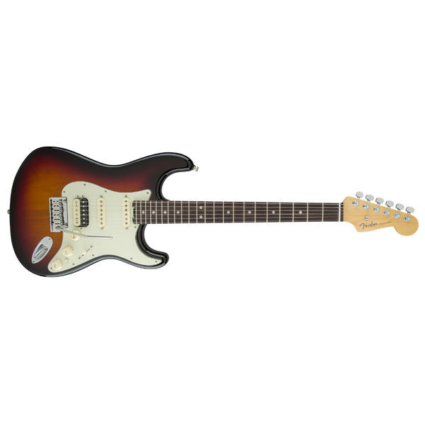 Электрогитара Fender American Elite Stratocaster HSS Shawbucker RW 3-Color Sunburst