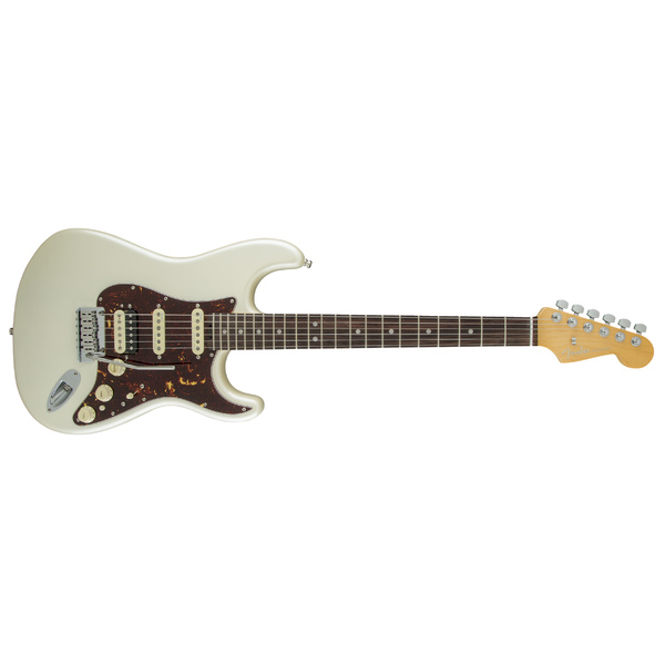 Электрогитара Fender American Elite Stratocaster HSS Shawbucker Rosewood Fingerboard Olympic Pearl