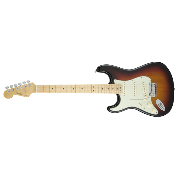 Электрогитара Fender American Elite Stratocaster Left-Hand Maple Fingerboard 3-Color Sunburst