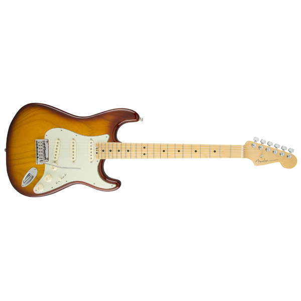 Электрогитара Fender American Elite Stratocaster Maple Fingerboard Tobacco Sunburst