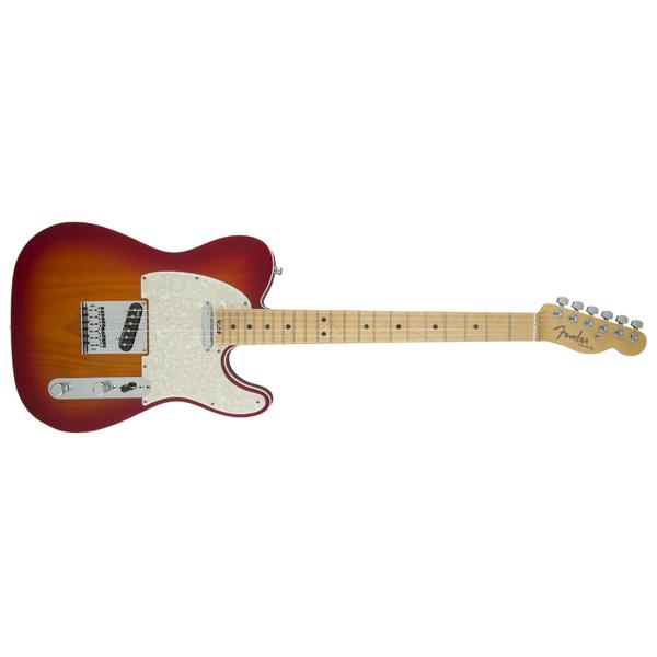 Электрогитара Fender American Elite Telecaster Maple Fingerboard Aged Cherry Burst