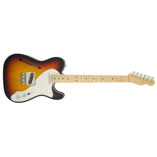 Электрогитара Fender American Elite Telecaster Thinline Maple Fingerboard 3-Color Sunburst