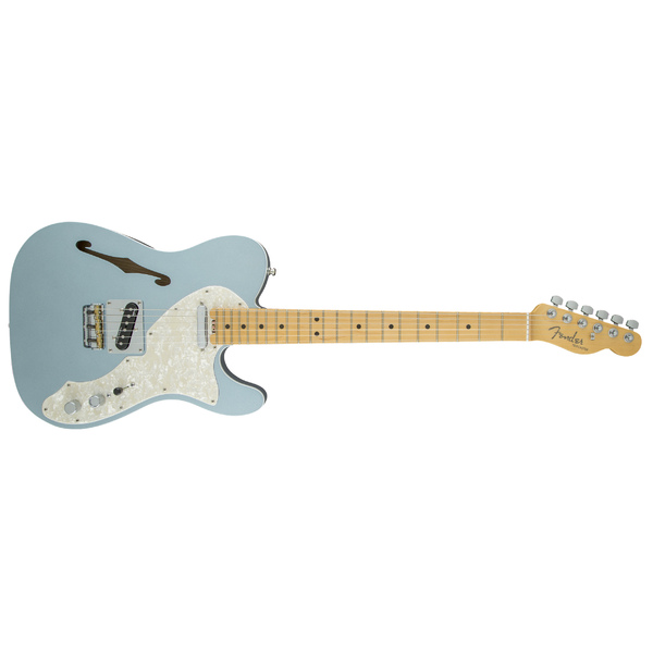 ������������� Fender American Elite Telecaster Thinline Maple Fingerboard Mystic Ice Blue