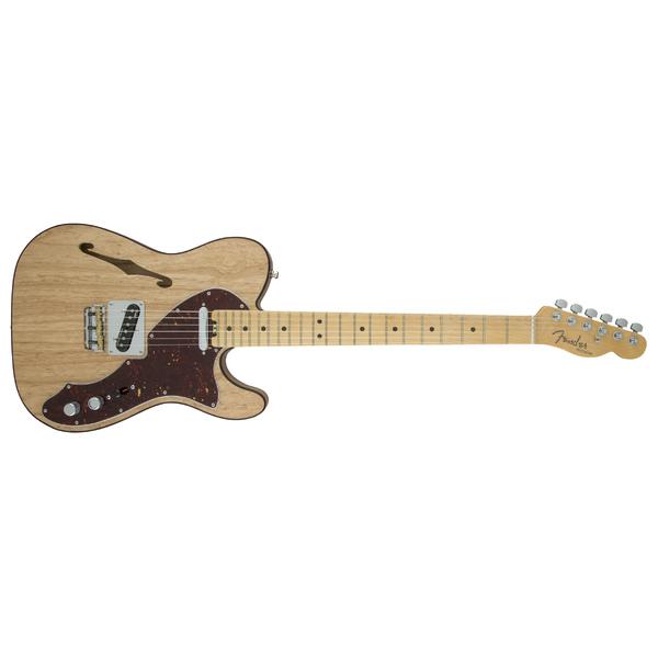 Электрогитара Fender American Elite Telecaster Thinline Maple Fingerboard Natural