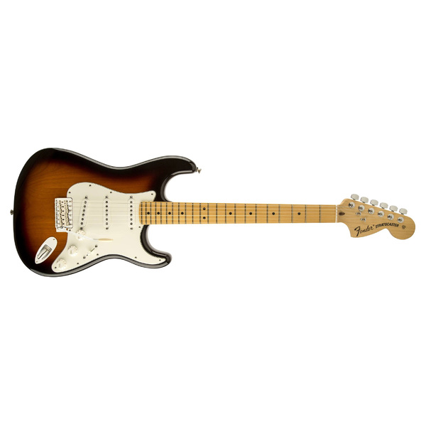 Электрогитара Fender American Special Stratocaster Maple Fingerboard 2-Color Sunburst fender american elite telecaster maple fingerboard butterscotch blonde
