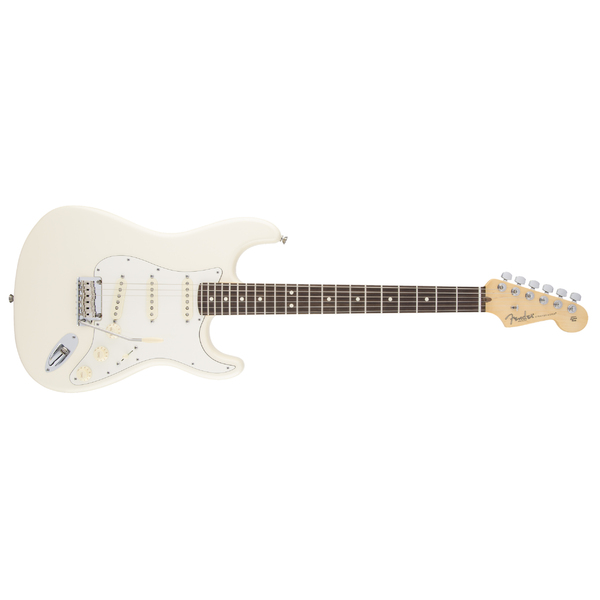 ������������� Fender American Standard Stratocaster RW Olympic White