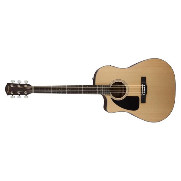 Гитара электроакустическая Fender CD-100CE L/H Natural