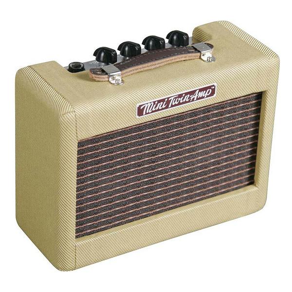 Гитарный мини-усилитель Fender Гитарный мини-комбоусилитель  MINI '57 TWIN-AMP гитарный комбоусилитель roland blues cube stage
