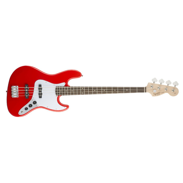 Бас-гитара Fender Squier Affinity Jazz Bass Race Red fender squier affinity pj bass bwb pg rcr