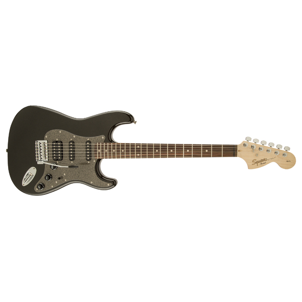 Электрогитара Fender Squier Affinity Stratocaster HSS RW MONTEGO BLACK METALLIC fender squier standard stratocaster left hand antique burst