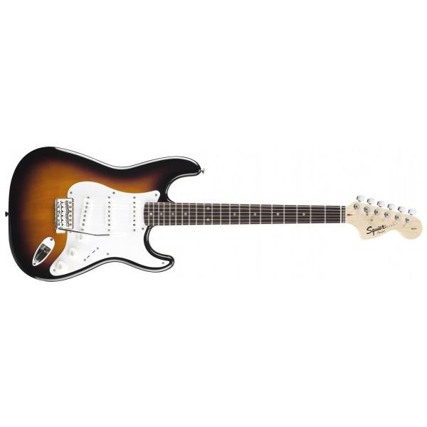 Электрогитара Fender Squier Affinity Stratocaster RW Race Red fender squier standard stratocaster left hand antique burst