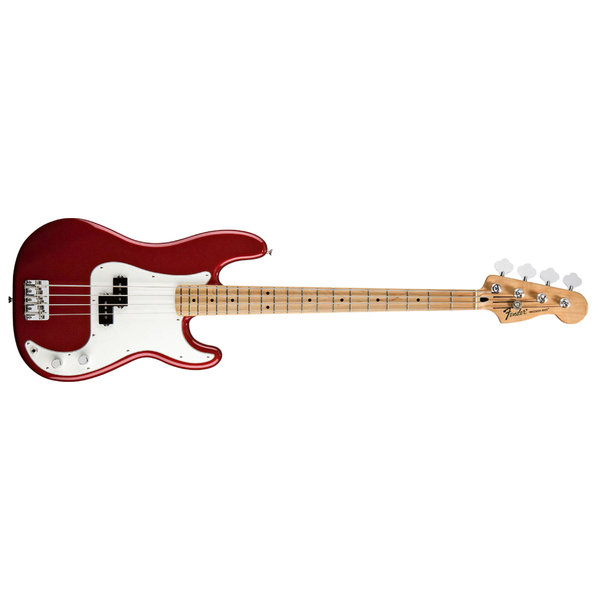 ���-������ Fender Standard Precision Bass MN Candy Apple Red Tint