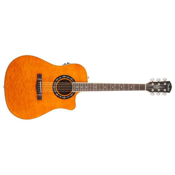 ������ ������������������� Fender T-Bucket 300CE Amber Quilt Maple