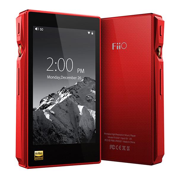 Портативный Hi-Fi плеер FiiO X5 3nd gen Red портативный hi fi плеер fiio усилитель для портативного hi fi плеера am1